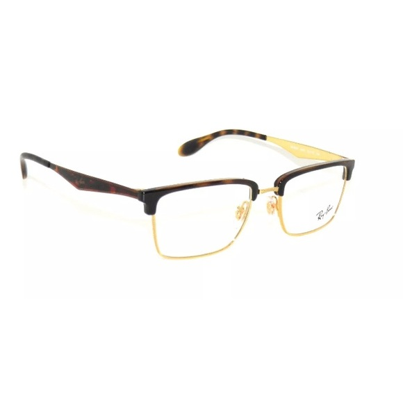 00d71339e7 Ray-ban Optical Eyeglasses 6397 Havana Gold Frame
